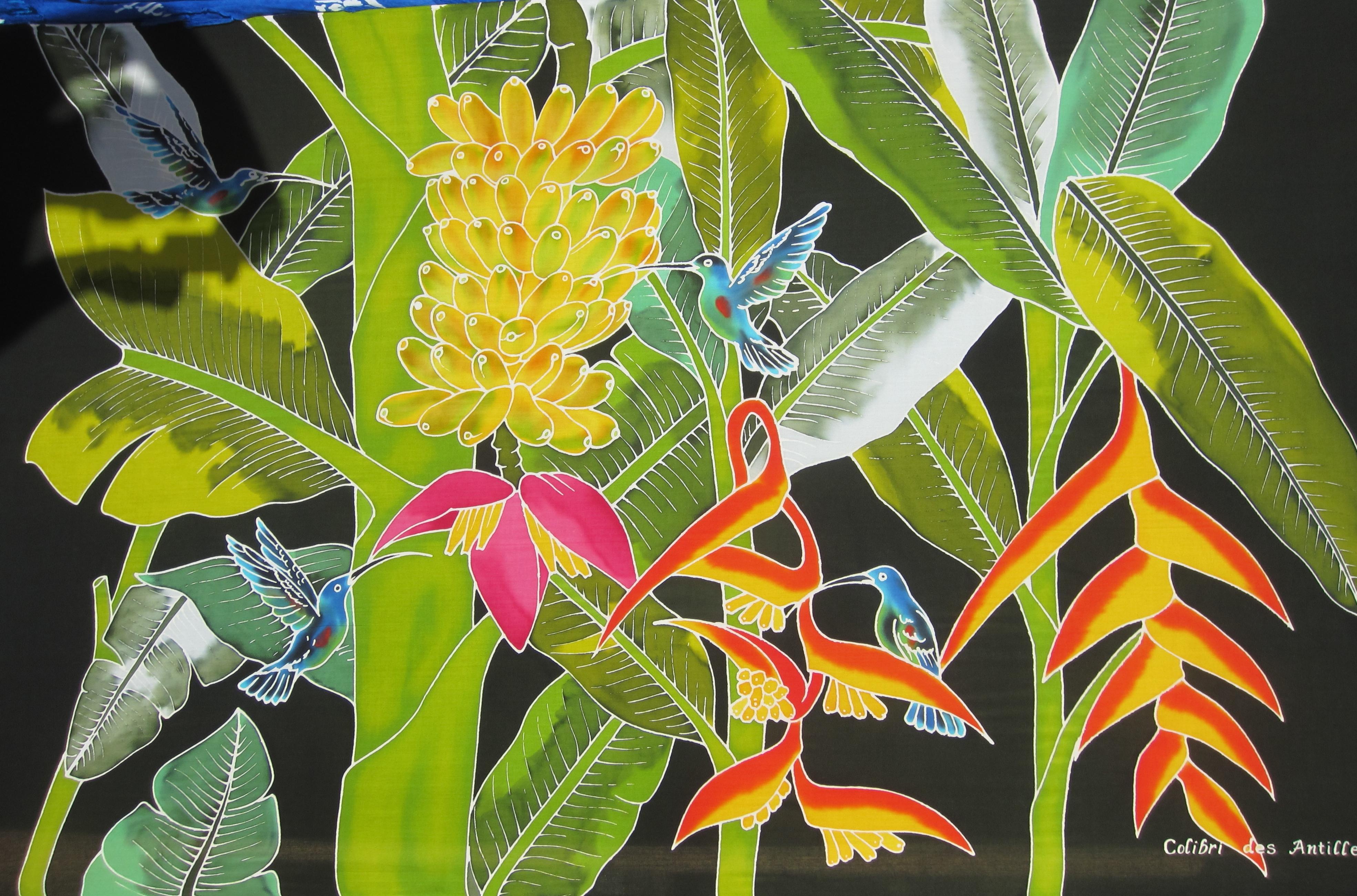 paréo colibris